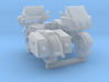 Motorcycle 1-87 HO Scale 2 Pack 3d printed