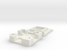 MEMS Chip Carrier (10mm square die size) 3d printed