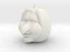 Halloween Pumpkin, 3d Carved Happy Toon Face 3d printed