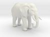 Printle Thing Elephant - 1/64 3d printed