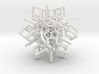 Christmas tree decoration ornament - 120cell_A3_r5 3d printed
