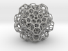 Christmas tree decoration ornament - 120cell_B4_r5 3d printed