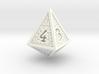 Hedron D4 (Solid), balanced gaming die 3d printed