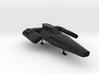 Blackbird Landed (Battlestar Galactica) 3d printed