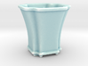 Scalloped Bonsai-Style Shot Glass 3d printed