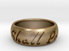This Too Shall Pass ring size 12 1/2  3d printed