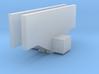 Tomytec Railcar coupler support - no pilot 3d printed