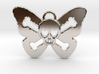 Cute Butterfly Skull 3d printed