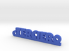 TERCIERO_keychain_Lucky 3d printed