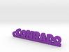 CONRADO_keychain_Lucky 3d printed