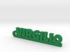 VIRGILIO_keychain_Lucky 3d printed