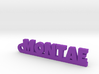MONTAE_keychain_Lucky 3d printed