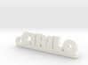 CIRILO_keychain_Lucky 3d printed