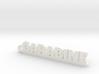 GARABINE_keychain_Lucky 3d printed
