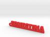 ERNESTINA_keychain_Lucky 3d printed