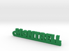 MONTRELL_keychain_Lucky 3d printed