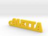 ALETTA_keychain_Lucky 3d printed