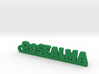 ROSEALMA_keychain_Lucky 3d printed