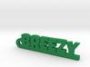 BREEZY_keychain_Lucky 3d printed