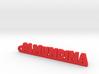 ALMUNDINA_keychain_Lucky 3d printed
