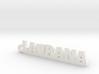 LAURANA_keychain_Lucky 3d printed