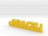 ARACELI_keychain_Lucky 3d printed