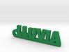 LLUVIA_keychain_Lucky 3d printed