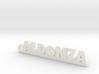 ALDONZA_keychain_Lucky 3d printed