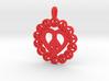 26 -PEACE-CIRCLES_pretzle heart.ZPR 3d printed