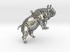 Rhinoceros Pendant 3d printed