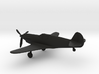 Curtiss XP-46 3d printed