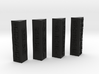 Sith Holo columns no pegs 3d printed