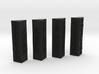 Sith Holo columns no pegs 3d printed