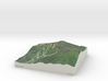 Whiteface Mtn., NY, USA, 1:25000 Explorer 3d printed