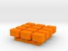 1/87 Scale Ham Radio GO-Box Deeper Cases 3d printed