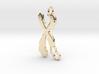 Chromosome Deletion Pendant 3d printed