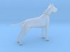 Printle Thing Danish Dog - 1/48 3d printed