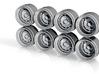 Gotti 75BA 8-6 Hot Wheels Rims 3d printed