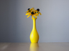 BalloonVase 3d printed Turns any balloon into an elegant flower vase