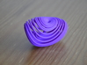 Three-scroll unified chaotic system attractor 50mm 3d printed