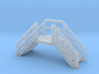 Z Scale Emergency Exit Stairs 3d printed