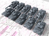 1/600 French Lorraine 40t Medium Tank x10 3d printed 1/600 French Lorraine 40t Medium Tank x10