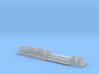 Lloydhalle Bremerhaven Pier Victorian Age 1/1250 3d printed