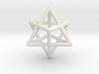 Merkaba pendant - extra small 3d printed