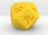 14 faces dice 3d printed