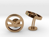 Kingsman The Golden Circle Symbol Wedding Cufflink 3d printed