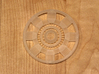 Iron Man Mark IV Arc Reactor (1 of 2 parts) 3d printed Actual 3D Print using Frosted Detail