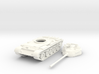 1/100 scale T-55 tank 3d printed