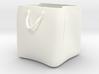 Shopping bag plant pot 3d printed