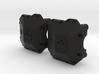 SCX10.2 II AR44 Ballistic Fabrications Diff Cover 3d printed